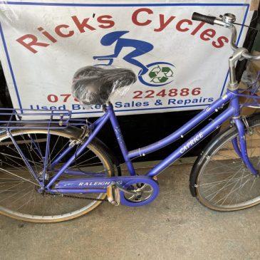 "Raleigh Caprice 21"" Frame Ladies Town Bike. £95"