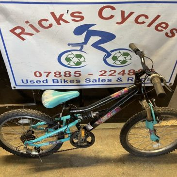 """Apollo Charm 20"""" Wheel Girls Mountain Bike. £55"""