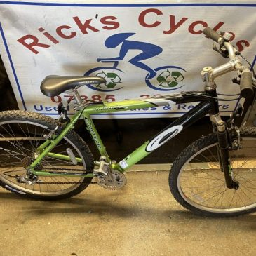 "Carrera Banshee 18"" Frame Mountain Bike. £145"