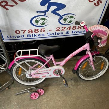 "Prometheus 18"" Wheel Girls Bike. £45"