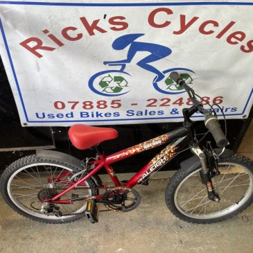 "Raleigh Hotrod 20"" Wheels Mountain Bike. £60"