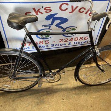 """Vintage New Hudson 1920s/30s 26"""" Frame Gents Town Bike. £395"""