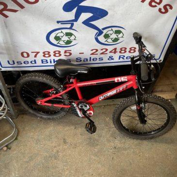 """Apollo Outrage 18"""" Wheel Boys Bike. £45"""