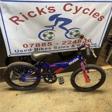 "Piranha Iguana 18"" Wheel Boys Bike. £40"