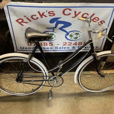 """Vintage 1956 23"""" Frame Ladies Town Bike. £125"""