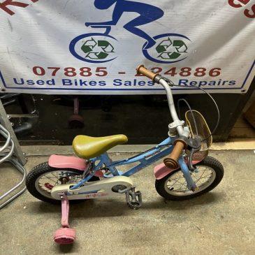 "Dawes Lil Duchess 14"" Wheel Girls Bike. £40"