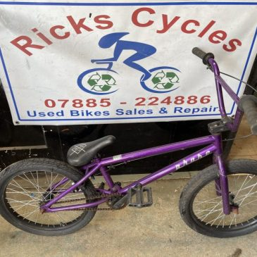 "Rupton Bike Phase 20"" Wheel BMX. £65"