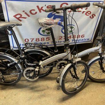 "Appllo Transition 20"" Wheels Folding Bike. £125 each!!"