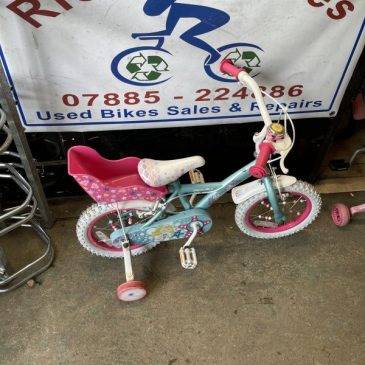 "Apollo Mermaid 14"" Wheel Girls Bike. £40"