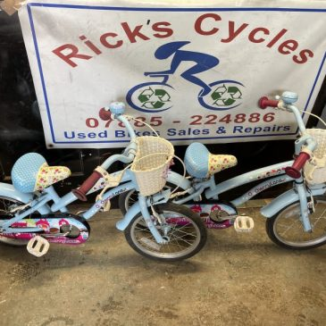 "Apollo CherryLane 16"" Wheel Girls Bike. £35"