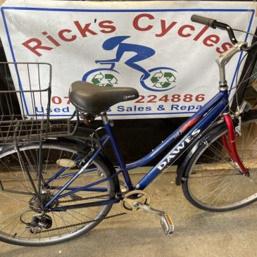 "Dawes Red Festher 19"" Frame Town Bike. £165"