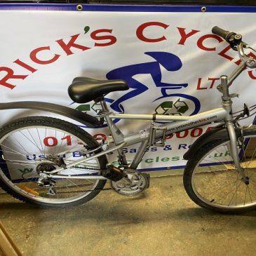 """KIA 17"""" Frame Folding Mountain Bike. £125"""