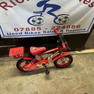 "Apollo Fire Chief 12"" Wheel Girls Bike. £30"