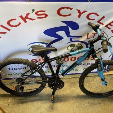 "B-Twin RockRider 500 24"" Wheel Mountain Bike. £120"