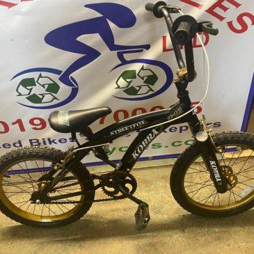 """StreetFox Kobra 18"""" Wheel Bike. £40"""