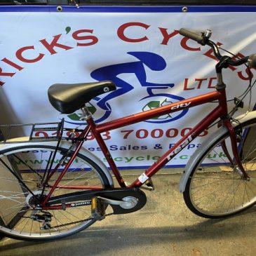 "Real City 21"" Frame Hybrid Bike. £120"