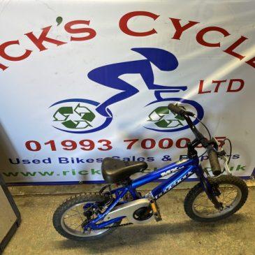 """Ridgeback MX14 14"""" Wheel Boys Bike. £35"""