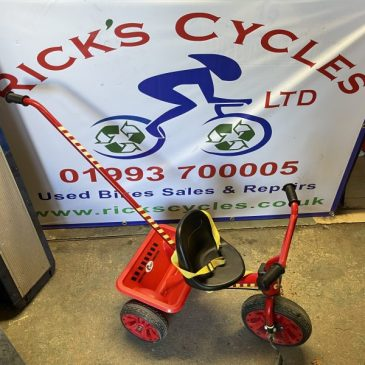Cooo Monster Boys Trike with Parent Control Handle. £15
