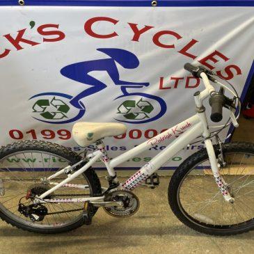 "Raleigh Krush 24"" Wheel Mountain Bike. £75"