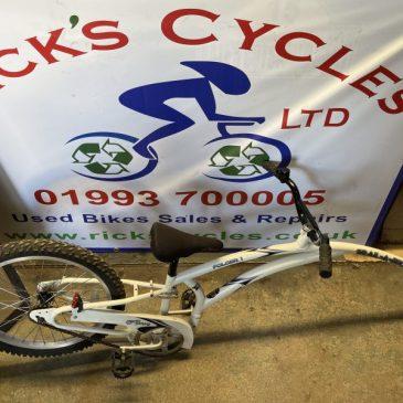 "Adams Folder1 Folding Tag-a-Long 20"" Wheel Bike. £50"