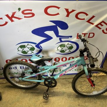 "Avery 20 20"" Wheel Girls Bike. £60"