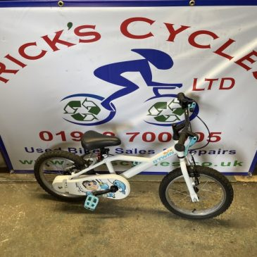 "B-Twin Inout 100 16"" Wheel Kids Bike. £35"