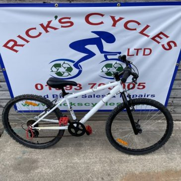 "B-Twin 24"" Wheel Mountain Bike. £75"