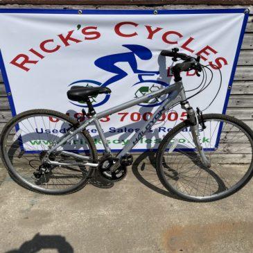 "Halcyon Monterey 17"" Frame Hybrid Bike. £165"