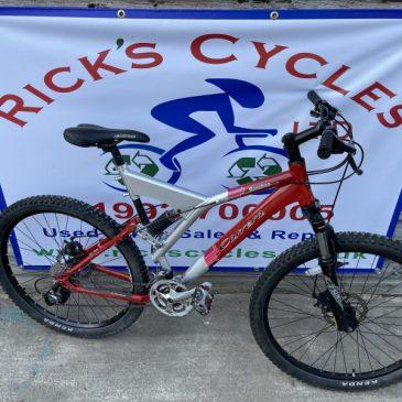 "Carrera banshee 20.5"" Frame Mountain Bike. £165"