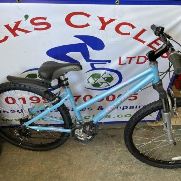 "Dawes Paris 15"" Frame Mountain Bike. £150"