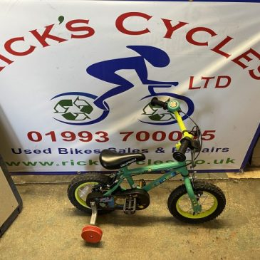 """Apollo Marvin The Monkey 12"""" Wheel Kids Bike. £40"""