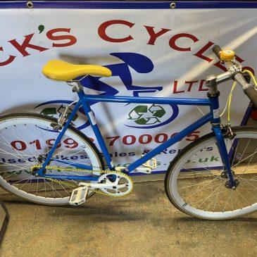"""Fixie 22.5"""" Frame Bike.  Refurbished, £125"""
