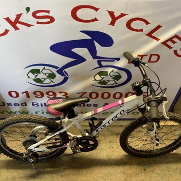 "Carrera Luna 20"" Wheel Girls Bike. £100"