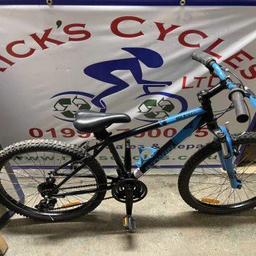 "B-Twin Rockrider 500 24"" Wheel Mountain Bike. £100"
