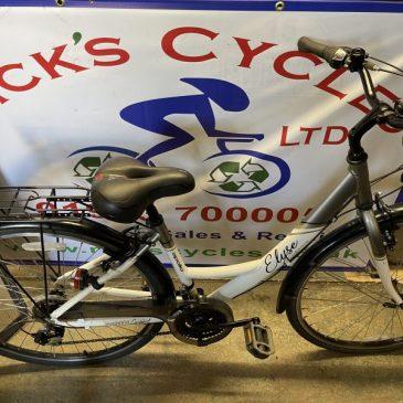 """Apollo Elyse 16"""" Frame Ladies Town Bike. £145"""