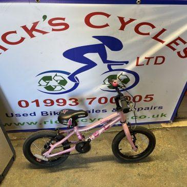 "Saracen Poppy 14"" Wheel Girls Bike. £40"