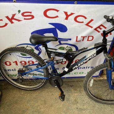 "Muddyfox Recoil 26 18"" Frame Mountain Bike. £85"
