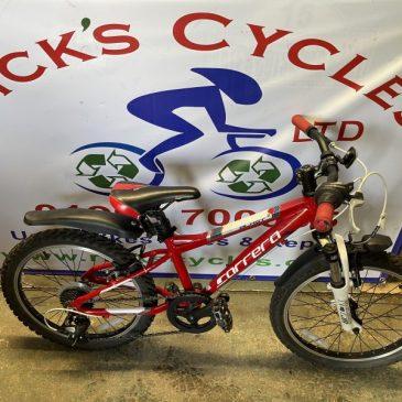 "Carrera Blast 20"" Wheel Mountain Bike. £100"