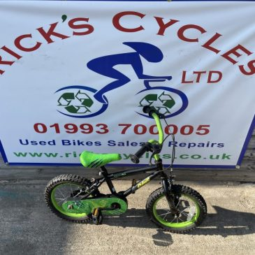 "Apollo Claws 14"" Wheel Boys Bike. No1. £35"
