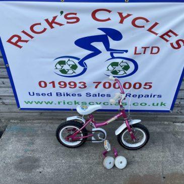 "Raleigh Molly 12"" Wheel Bike. £25"