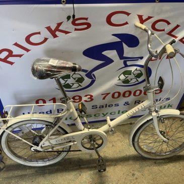 "Raleigh Compact 20"" Wheel Folding Bike. £100"