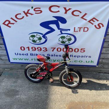 "Raleigh MX14 14"" Wheel Boys Bike. £35"