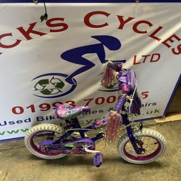 "Universal HollyWood 14"" Wheel Girls Bike. £40"