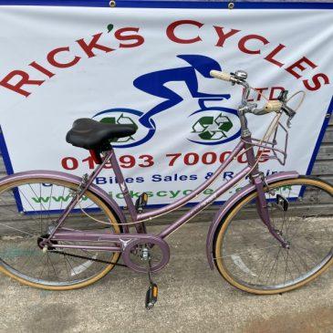 "Raleigh Caprice 21"" Frame Ladies Town Bike. £140"