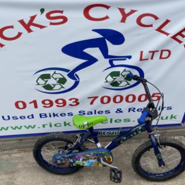 "Ben Ten 16"" Wheel Boys Bike. £40"