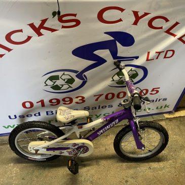 """Specialized HotRock 16"""" Wheel Girls Bike. £50"""