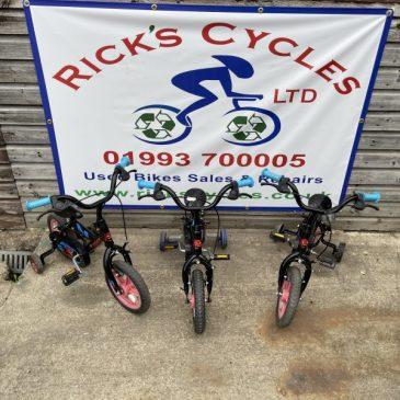 "Urchin 12"" Wheel Boys Bike. Choice of 3! £20 each"