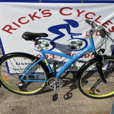 "B-Twin Original 500 20"" Frame Hybrid Bike. £175"