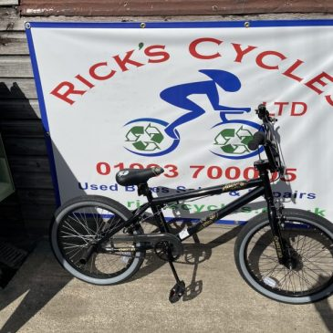 X-Rated Spine Wheel BMX Bike. £80
