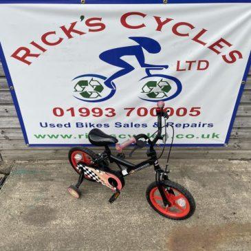 "Outrider 12"" Wheel Boys Bike. £30"